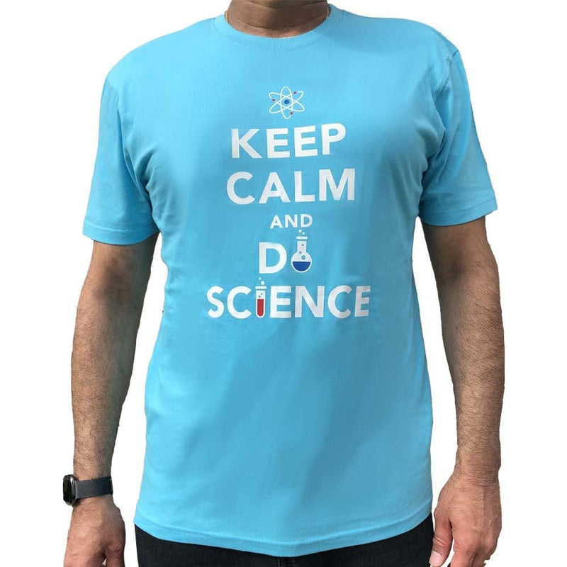 Science Tee, Chemistry Tee, STEM Tee, Keep Calm Tee, Keep Calm Series Tee, British Ministry of Information Tee, Science Tee, STEM Tee, Chemistry Tee, Keep Calm and Do Science Unisex T-Shirt - SVAHA USA