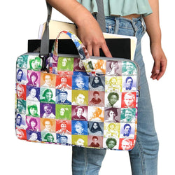 Women Scientist Laptop Bag, Science Laptop Bag, STEM Laptop Bag, Amazing Women Pioneer Laptop Bag - SVAHA USA