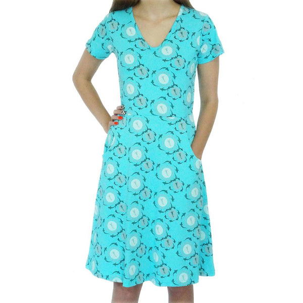 Shark Circles Rosalind Dress