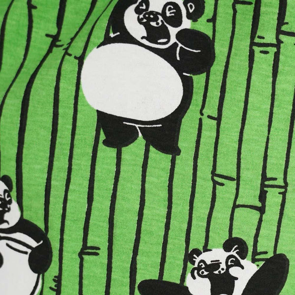 Yawning Pandas Kids Pajamas Set