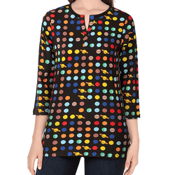 Solar System of Pi Maria Tunic Top