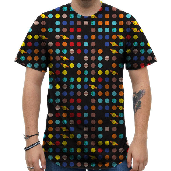 Solar System of Pi Unisex Adults T-shirt