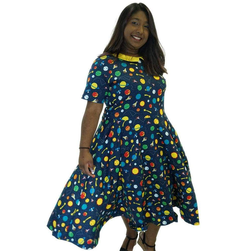 Space Exploration Parks Dress