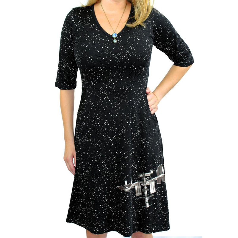 International Space Station Glow-in-the-Dark Rosalind Dress - Svaha USA