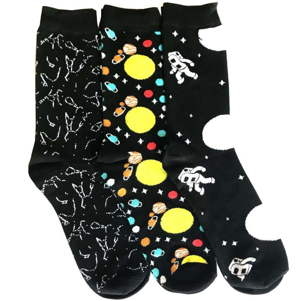 Space Lover Socks Bundle - 3-Pack