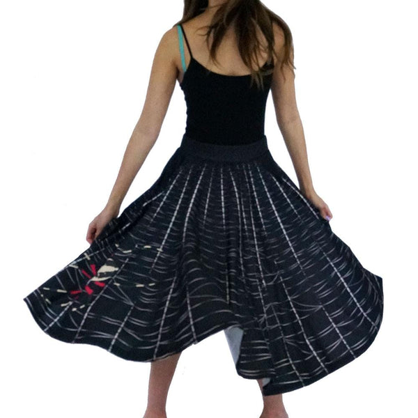 Spider Web Twirl Skirt