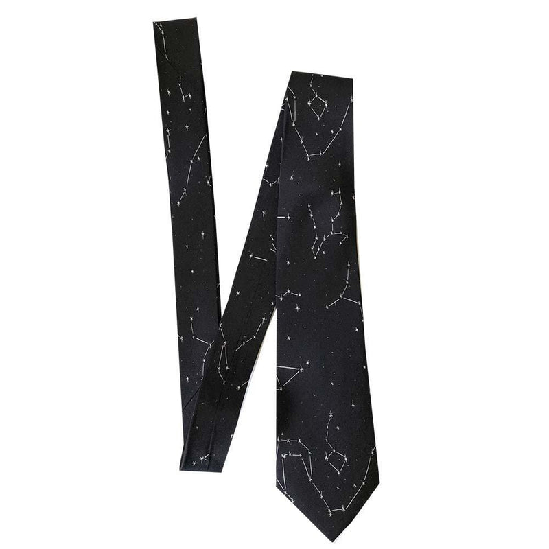 Constellations Silk Tie