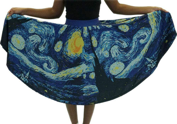 (Pre-order) Starry Night Twirl Skirt