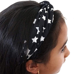 Star Headband, Stars Headband, Glow-in-the-Dark Headband, Space Headband, Astronomy Headband, Outerspace Headband, Stars Headband - SVAHA USA