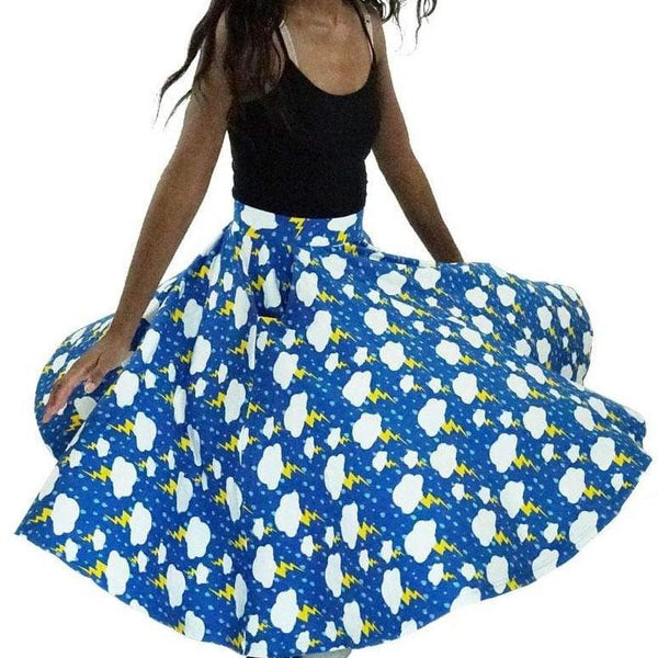 Stormy Day Twirl Skirt