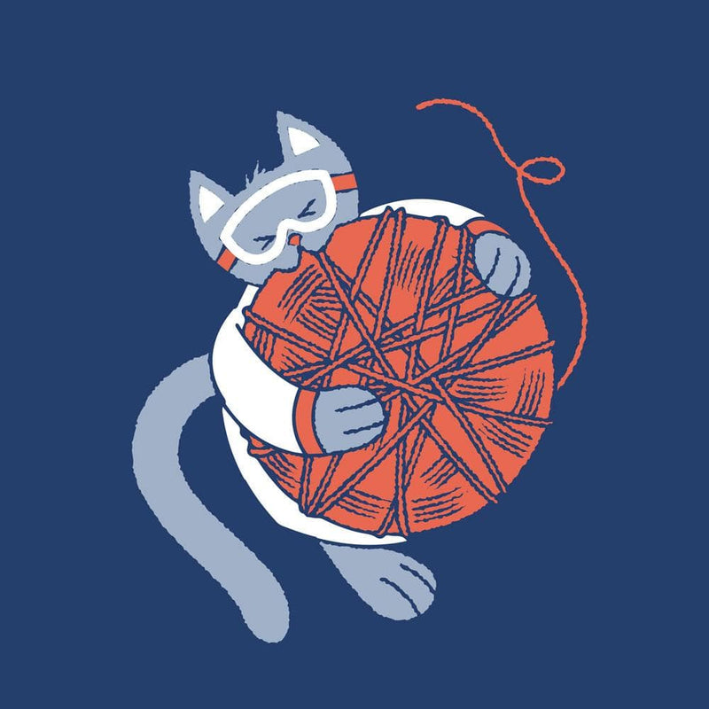 String Theory Cat Unisex Adults T-shirt
