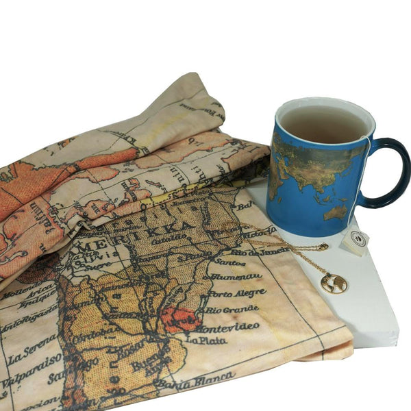 World Map Geography Gift Box ($80 Value)