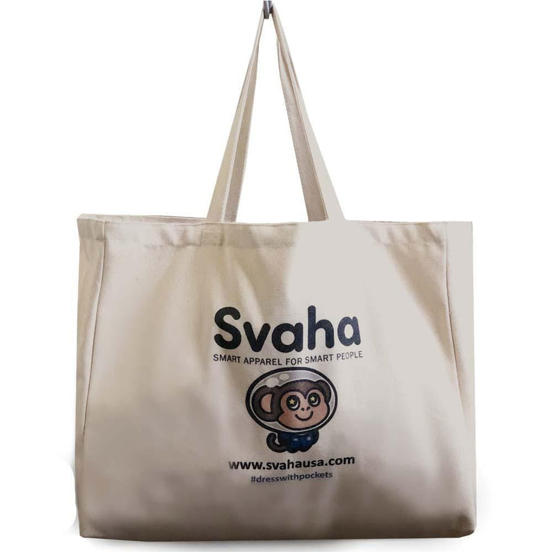 Svaha Logo Canvas Bag