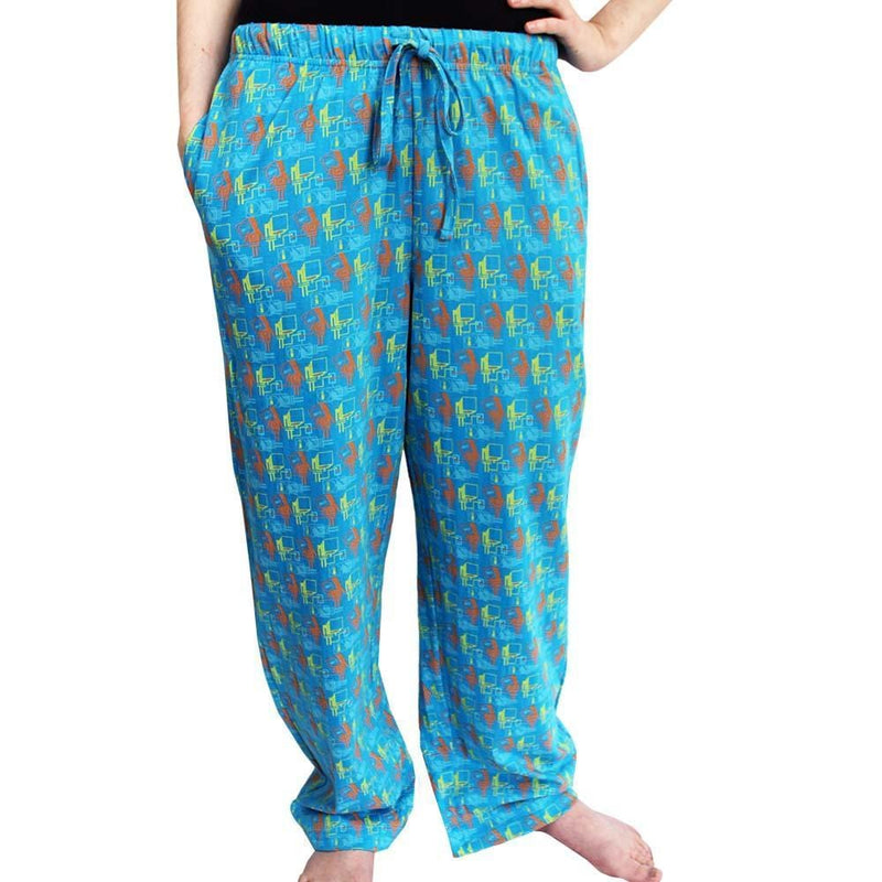 Artificial Intelligence Pajama Pants, A.I. Pajama Pants, Robot Pajama Pants, Technology Pajama Pants, Technology Sleepwear, STEM Pajama Pants, Sleeping Robot Pajama Pants with Pockets - SVAHA USA
