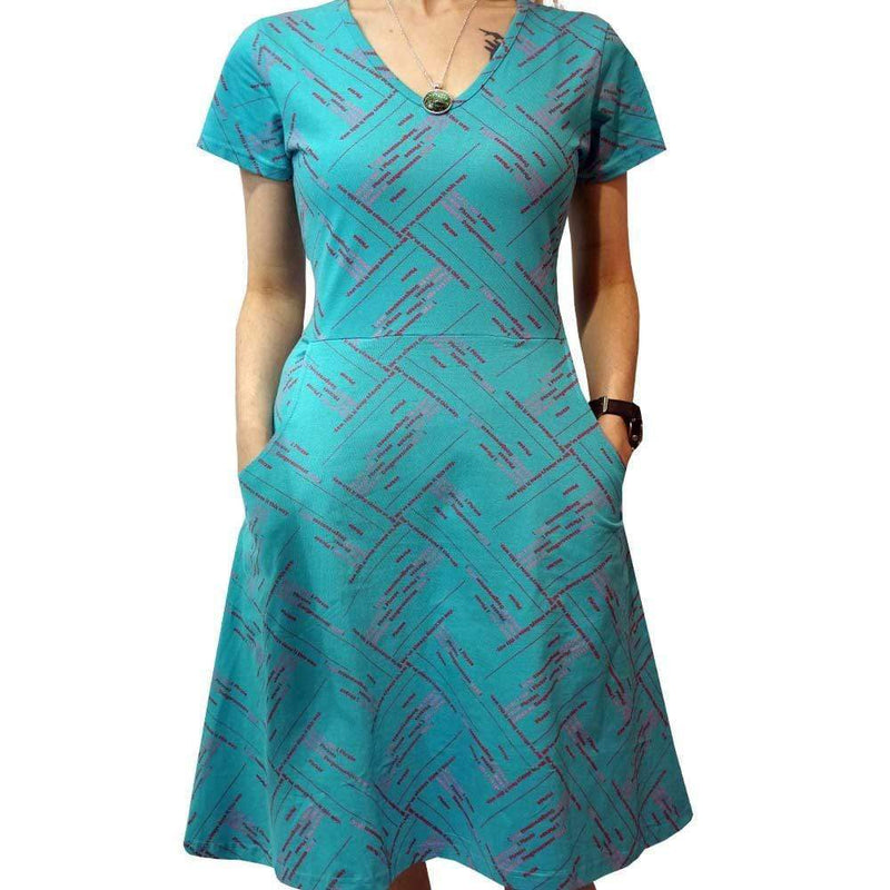 Womens Technology Dress with Pockets, Womens SQL Dress with Pockets, Womens Programming Dress with Pockets, Womens STEM Dress with Pockets, Womens Data Management Dress with Pockets, Womens Computer Programming Dress with Pockets, Query System Women's Dress with Pockets - SVAHA USA