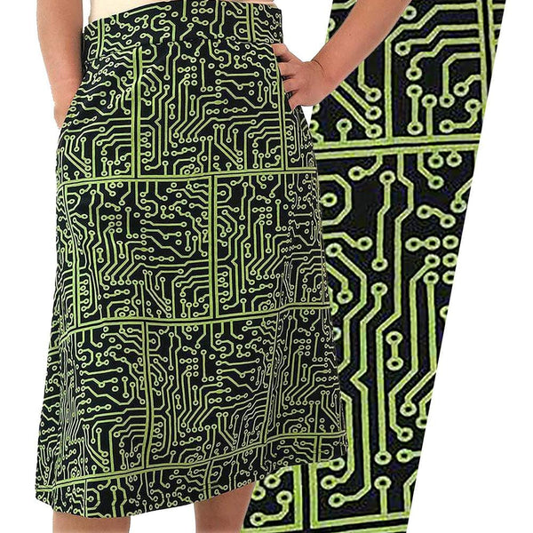 Printed Circuit Board A-Line Skirt [FINAL SALE]