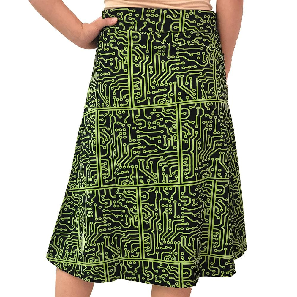 a55b41b44217 ... Technology Skirt, STEM Skirt, Circuit Board Skirt, Computer Science  Skirt, Computer Skirt ...