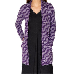 Tentacle Burnout Cardigan
