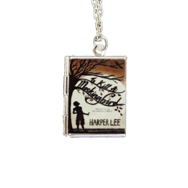 To Kill A Mockingbird Locket Necklace