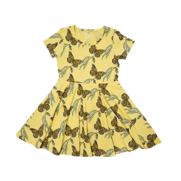 Metamorphosis Butterfly Kids Twirl Dress