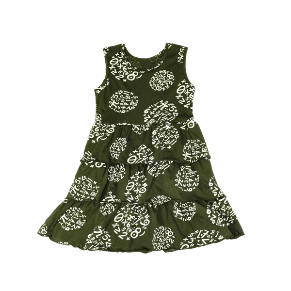 Circles of Calculation Kids Twirl Dress [FINAL SALE]