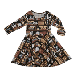 Lil' Reader's Secret Chamber Kids Twirl Dress