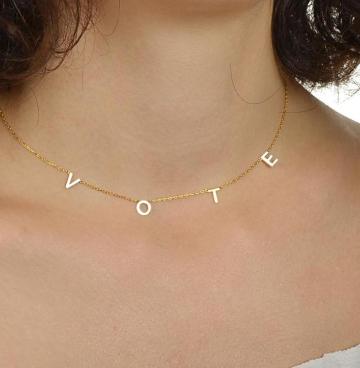 VOTE Stainless Steel Necklace