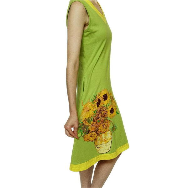 Van Gogh Sunflowers Eileen Dress
