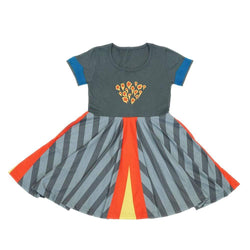 Volcano Kids Twirl Dress