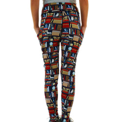 Librarian's Secret Chamber Adults Leggings with Pockets