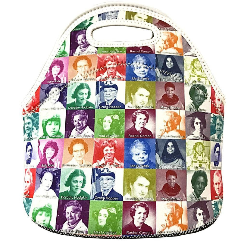 Science Lunch Bag, Lunch boxes, Scientist Lunch Box, STEM Lunch Box, STEM Tote, Science Tote, Rosalind Franklin Lunch Box, Ada Lovelace Lunch Box, Amelia Earhart Lunch Box, Marie Curie Lunch Box, Amazing Women Pioneers Lunch Box - SVAHA USA