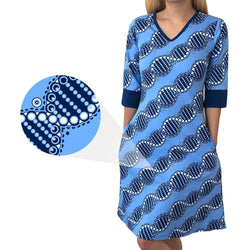 DNA Double Helix Katherine Dress [FINAL SALE]