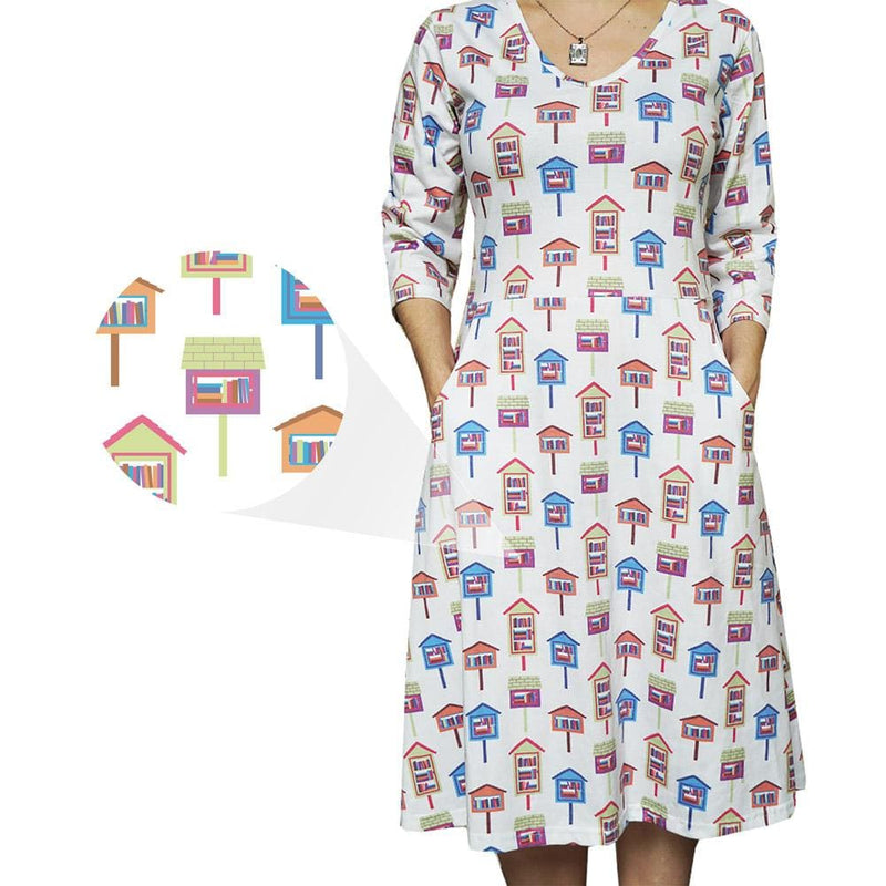 Library Houses Rosalind Dress