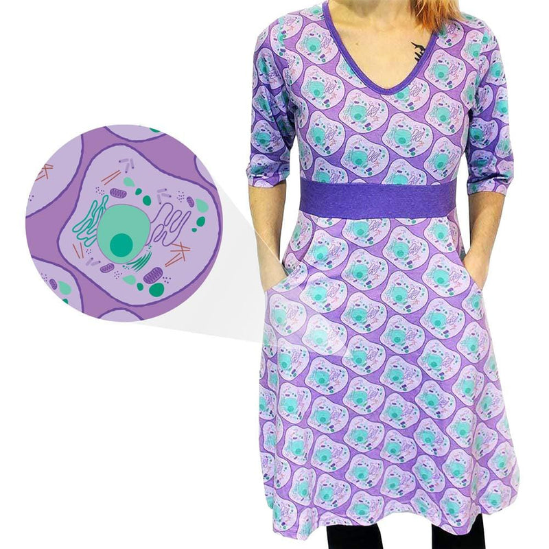 Animal Cell Biology Ruby Dress