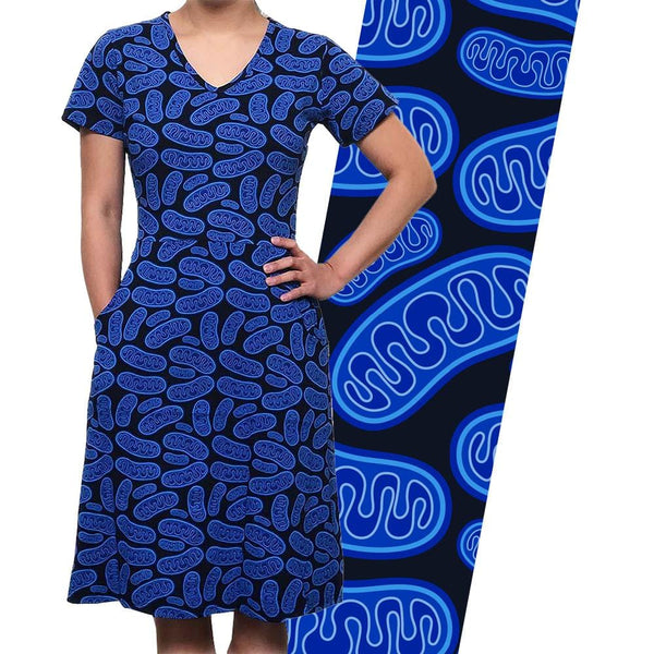 Mitochondria Diagram Rosalind Dress [FINAL SALE]