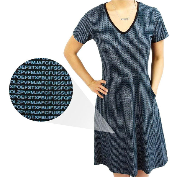 Cryptology Fit & Flare Dress [FINAL SALE]