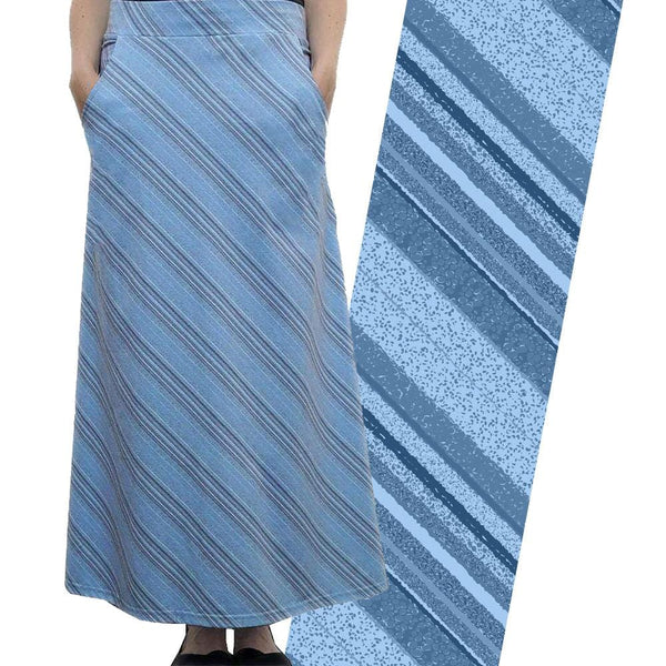 Glacier Layers Maxi Skirt [FINAL SALE]