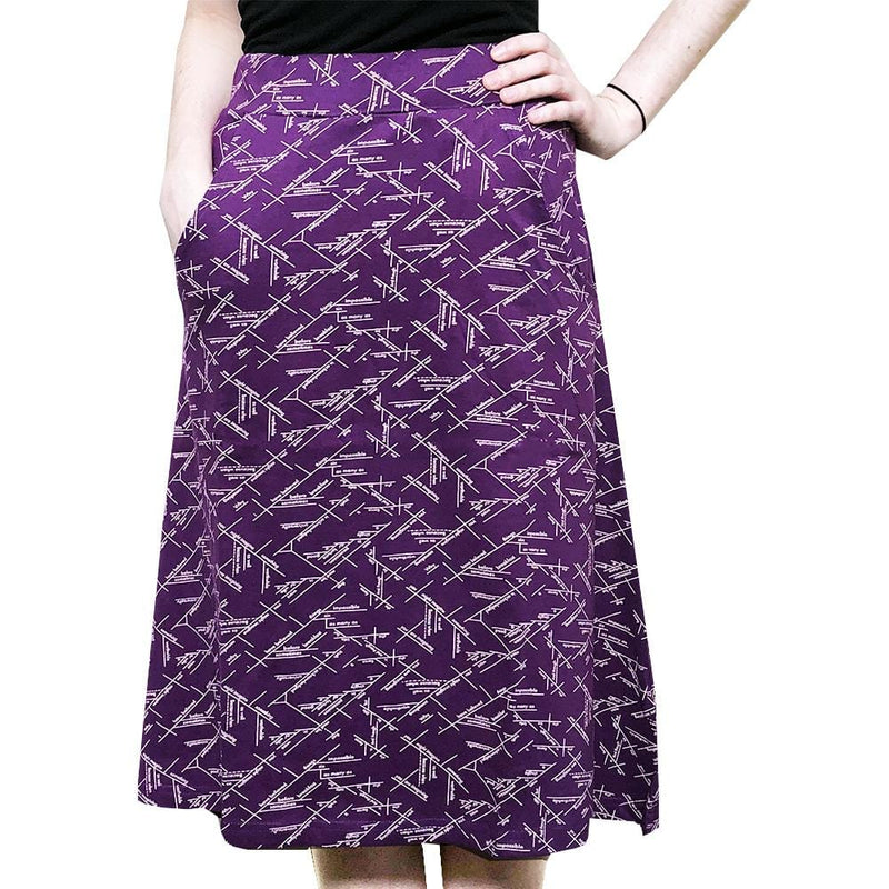 English Skirt, Writing Skirt, Grammar Skirt, Language Arts Skirt, Literature Skirt, Grammar Skirt, Teacher Skirt, Humanities Skirt, English Lit Skirt, Writer Skirt, Writing Skirt, Editing Skirt, Sentence Diagrams Skirt with Pockets - SVAHA USA
