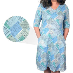 Library Cards Rosalind Dress