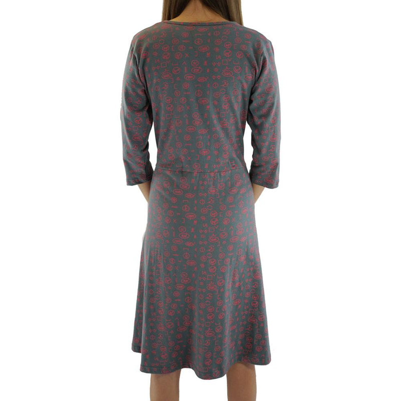 Proofreading Marks Rosalind Dress [FINAL SALE]
