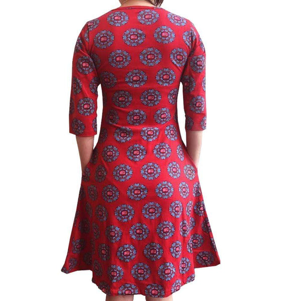 Books Mandala Katherine Dress