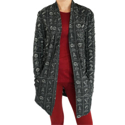 Dewey Decimal Classification® Burnout Cardigan
