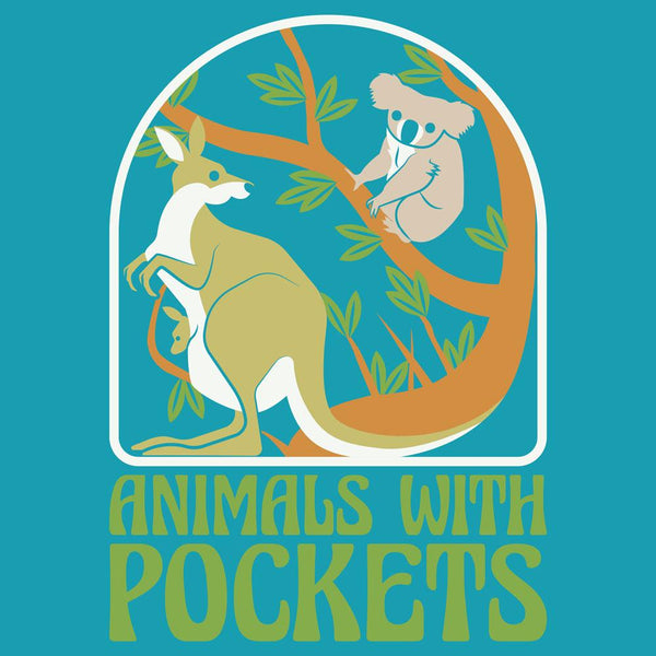 (Pre-order) Animals With Pockets Unisex Adults T-Shirt