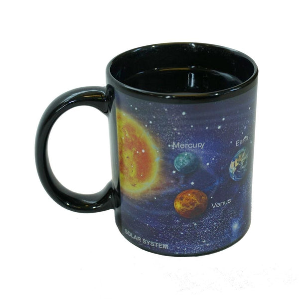 Solar System Heat-Activating Mug
