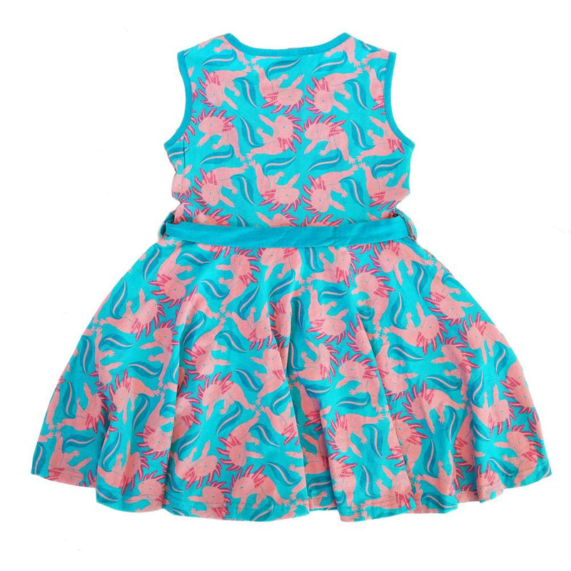 Axolotl Kids Twirl Dress