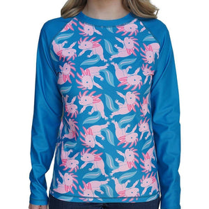 Axolotl Adults Rashguard Top - Svaha USA