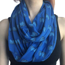 """Read Away"" Books Infinity Scarf - Svaha USA"