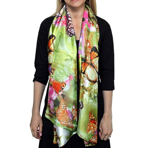 d4211fbf5e9274 Butterfly Effect Silk Scarf - Svaha USA STEAM-themed products for Science