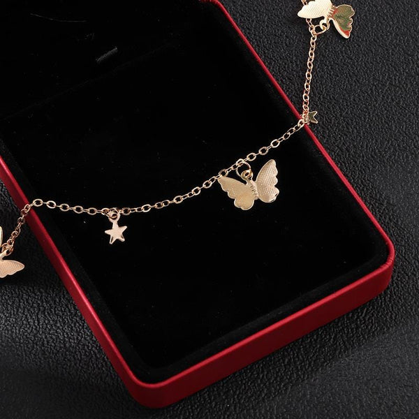 Moths at Midnight Necklace
