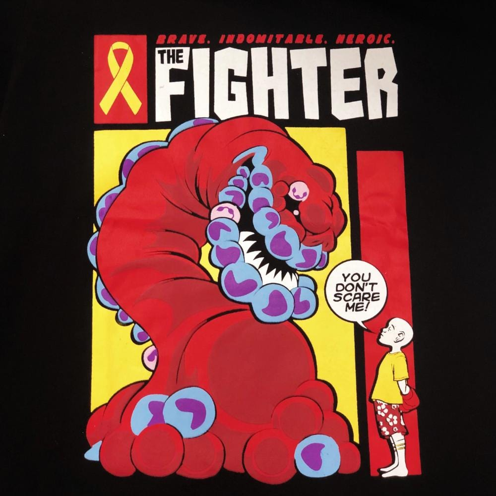'The Cancer Fighter' Kids T-Shirt